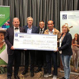 UV Mutuelle remet 60 000 $ à la Fondation SOCODEVI pour un projet de coopération au Vietnam